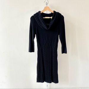 Sleeping on Snow Lancet Arch Cowl Sweater Dress S